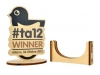 Scatola in legno e Premio in legno Cromobox