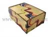 Stampa decorativa scatola in legno