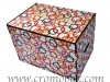 Contenitore in legno Cromobox