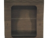Cromobox sedia wengè vista dettaglio retro