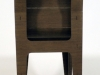 Cromobox sedia wengè vista dettaglio retro 2