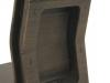 Cromobox sedia wengè vista dettaglio retro 3