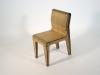 sedia Bamboo vista anteriore
