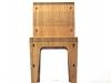 sedia Bamboo vista frontale 2