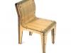sedia Bamboo vista frontale 3/4 anteriore