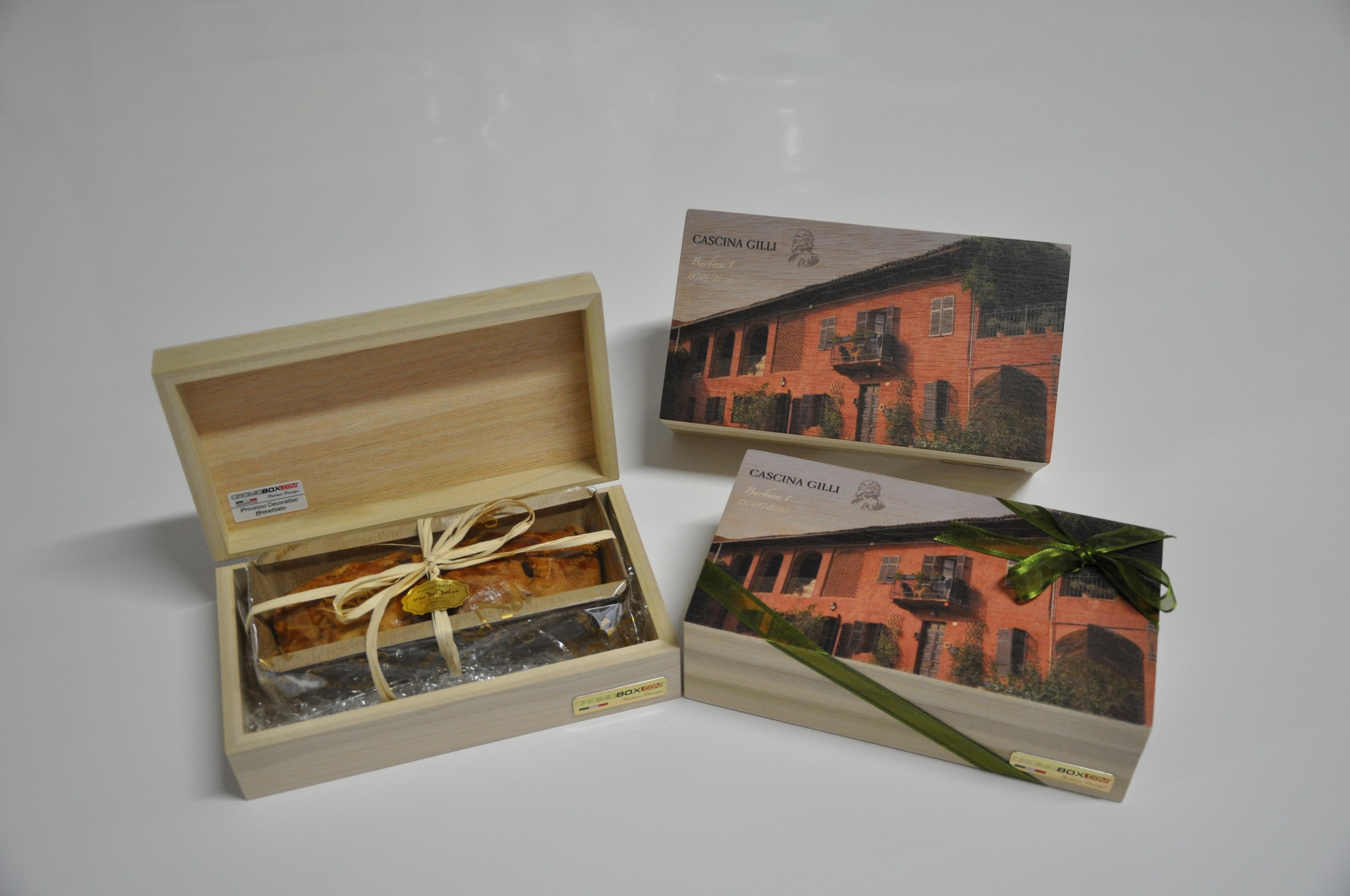confezioni di legno personalizzabili