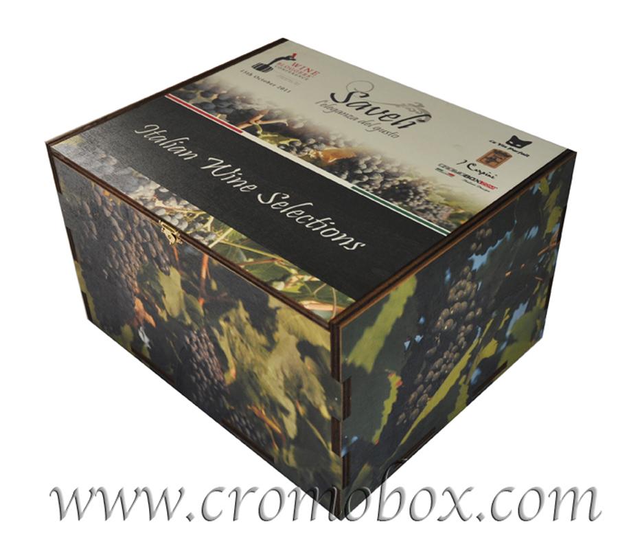 scatole personalizzate vino