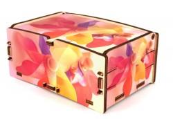 Scatola decorata con fotografia Cromobox