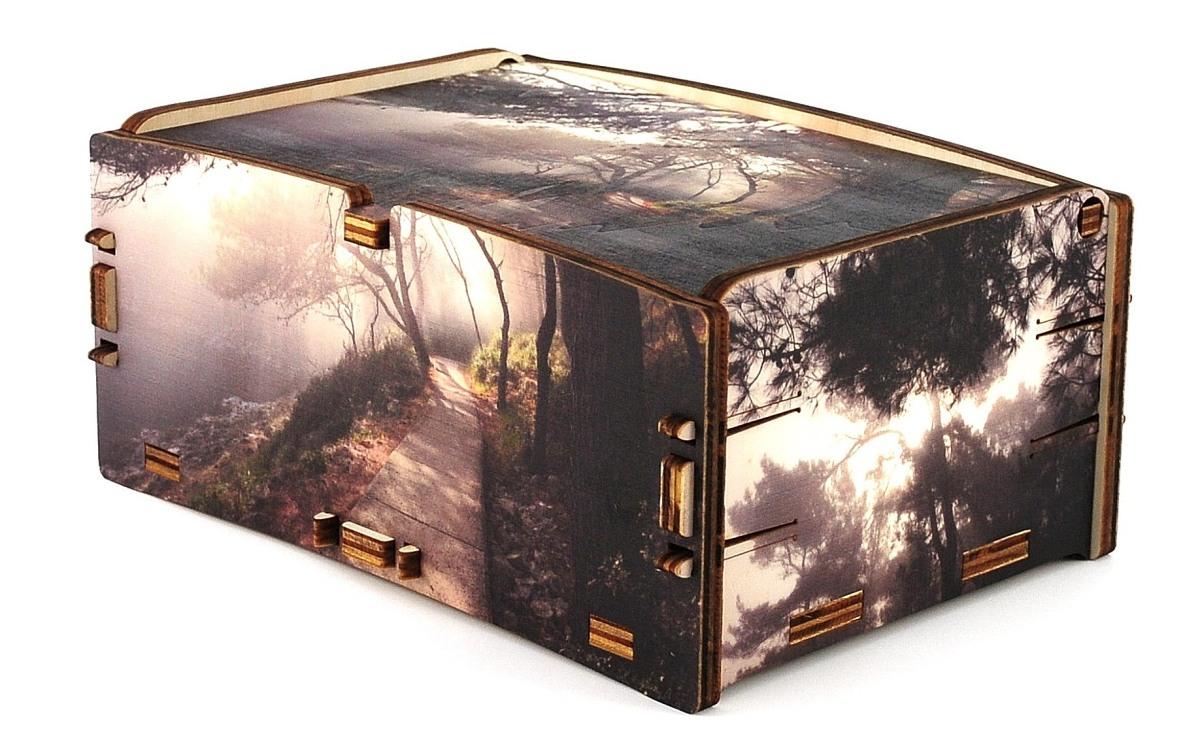 Packaging personalizzato in legno