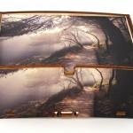 La fotografia d'autore stampata su una scatola Cromobox