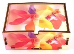 Scatole decorate con fotografia personalizzata