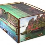Alta definizione personalizzazione scatole in legno