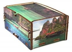 Scatola in legno Cromobox Phi Phi
