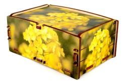 Cromobox scatole in legno decorate