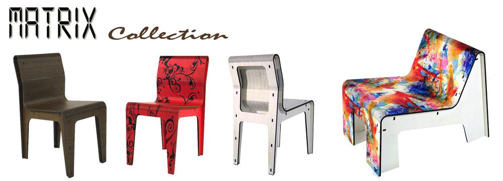 Innovativa Collezione di sedute realizzate da Cromobox