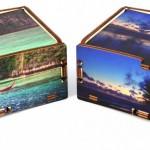 Scatole in legno personalizzate